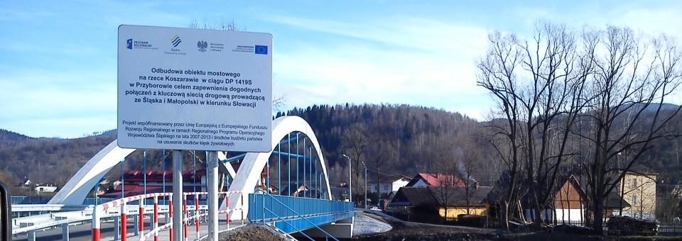 PZD Żywiec- tablice unijne Przyborów
