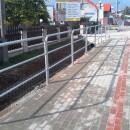MARTIN – montaż barierek chodnikowych, Tuchów